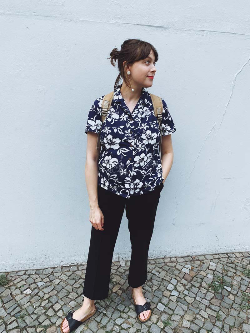 SLOW FASHION OUTFIT // Die Hawaiibluse & andere Lieblinge