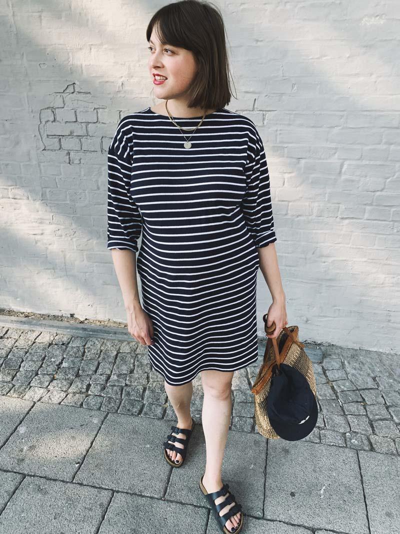 Ringelkleid & Slow Fashion Basics