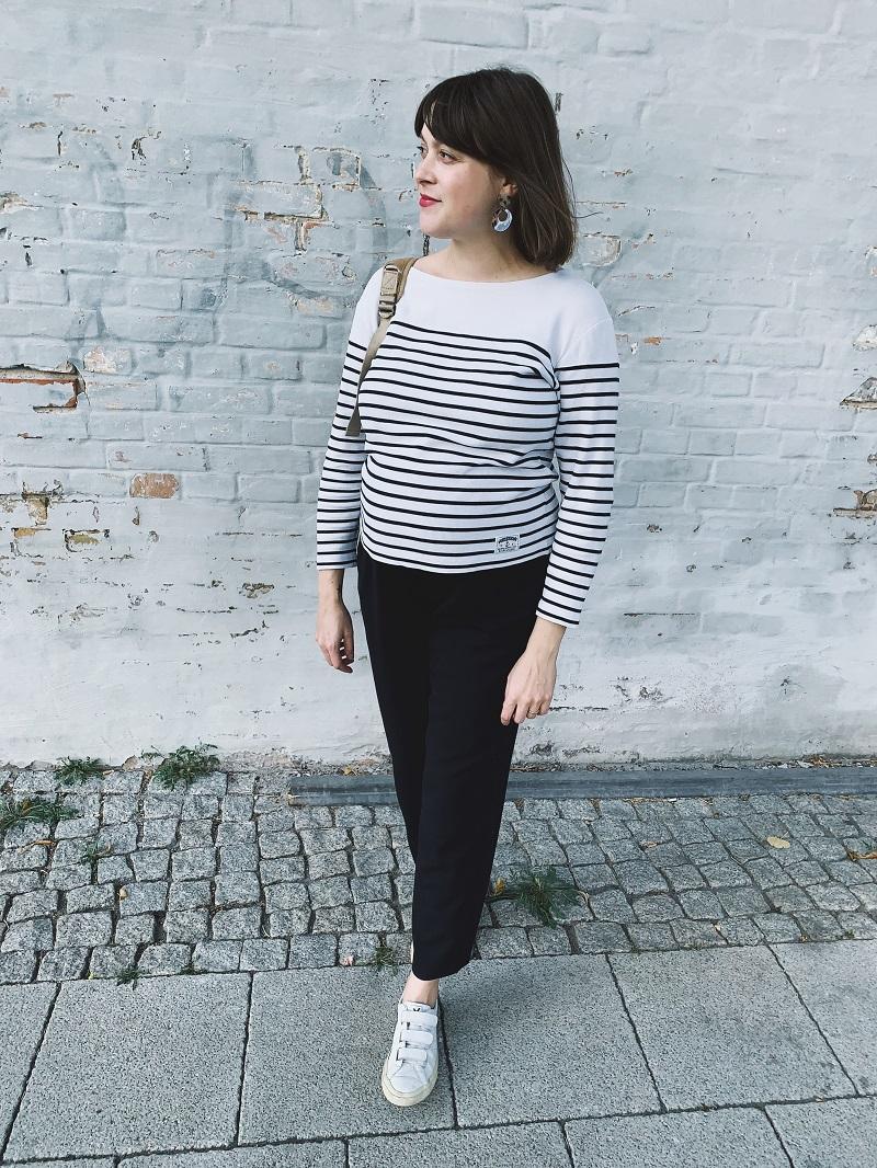Fair Fashion Basics für den Endspurt der Schwangerschaft