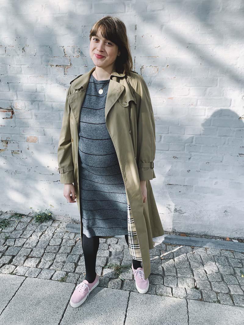 SLOW FASHION OUTFIT // Herbstlicher Schwangerschaftsendspurt